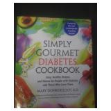 The sample gourmet diabetes cookbook, by Mary