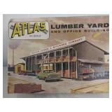 Atlas railroad accessories lumber yard and office
