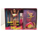 Super Gymnast Barbie NIB