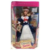 Colonial Barbie American Stories Collection NIB