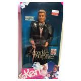 Sparkle Surprise Ken 1991 NIB