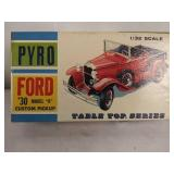 Vintage pyro table top series model kit 1930 Ford