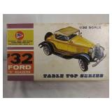 Vintage pyro tabletop series 1932 Ford B Roadster