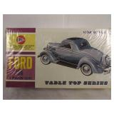 Vintage pyro tabletop series 1936 Ford 3 Window