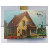Kibri 3808 HO scale house West Germany model kit
