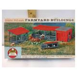 AHM Vintage colorful HO scale farm yard building