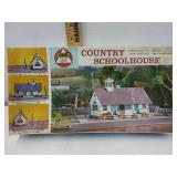 Vintage Ahm County School House HO scale model