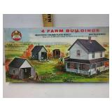 Vintage ahm for farm buildings HO scale