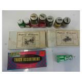 Assorted snap track parts paint Iowa miniature