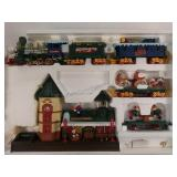 Battery operated North Pole station Christmas