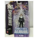 DC Super Heroes Action Figure Dr Light By Mattel