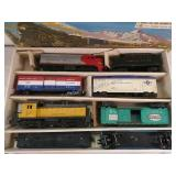 Lionel Electric Train Set O Guage Diesel Freight