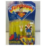 Superman Series Supergirl Action Figure by Kenner