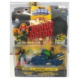 Mega Heroes Judge Dredd action figures Judge