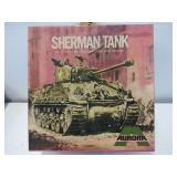 Vintage Aurora US Sherman Tank 1/48 Model