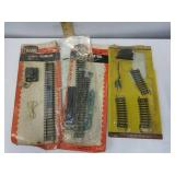 Vintage assorted extra HO scale train tracks