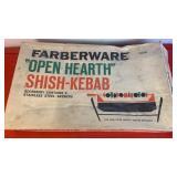 "Farberware ""Open Hearth"" Shish-Kebab set"