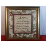 Love Bears All Decorative Wall Sign 15 x 15
