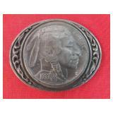 1988 Vintage Native Penny Designed Belt Buckle