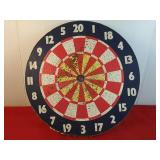 Double Sided Decorative Dartboard 18 inches
