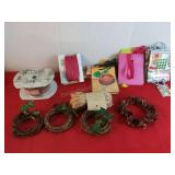 4 Small Reefs Christmas Gift Ties and 12