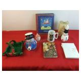 Assorted Holiday gifts Greeting Card Keeper Book