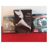 E L James Fifty Shades Book Trilogy Fifty Shades