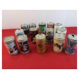 14 Vintage Beer Cans
