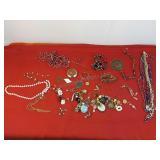 Assorted Broken Jewelry