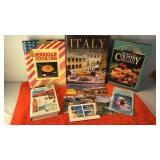 Collection of Cooking  and Travel Books and More