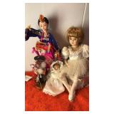 "Mibora Co Korean Doll 12""  Tall Plus Bronners"