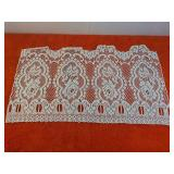 Laced Curtain longest is 83 inches