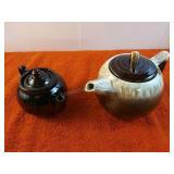 2 Decorative Ceramic Hot Water pots