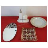 Porcelain Salt and Pepper Set Verdici Design