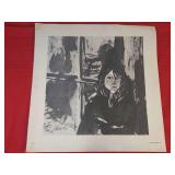 1967 Print of Original Drawing By Wolfe 18 x 18