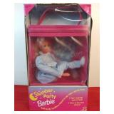 Slumber Party Barbie By Mattel With Box