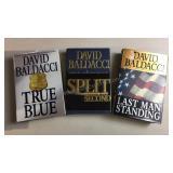 David Baldacci Hard Cover Book Lot