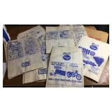 Lot of Vintage Paper Grocery Bags