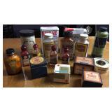 Lot of Collectible Medicine Jars, & Tins