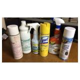 Lot of Cleaning Products