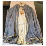 Vintage Masonic Costume Cape