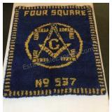 Masonic Hook & Loop Rug