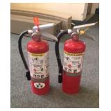 Lot of Fire Extinguisher