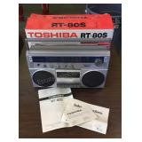 Vintage Toshiba RT-80s Boombox