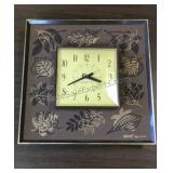 """MCM General Electric Wall Clock 12""""x12"""" Overall"""