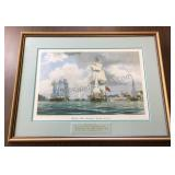 Signed Numbered Print Dedicated to Masonic Lodge