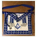 Vintage Masonic Apron & Pendant