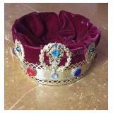 Vintage Masonic Costume Crown