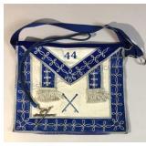 Vintage Masonic Apron w/ Pendent