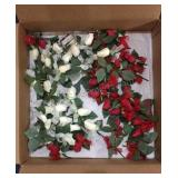 Box lot of Rose Boutonnieres